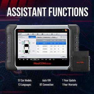 Image 2 - AUTEL MaxiCOM MK808TS TPMS automotive diagnostic tool TPMS programming tool tire pressure tool obd2 scanner pk mp808ts mk808bt