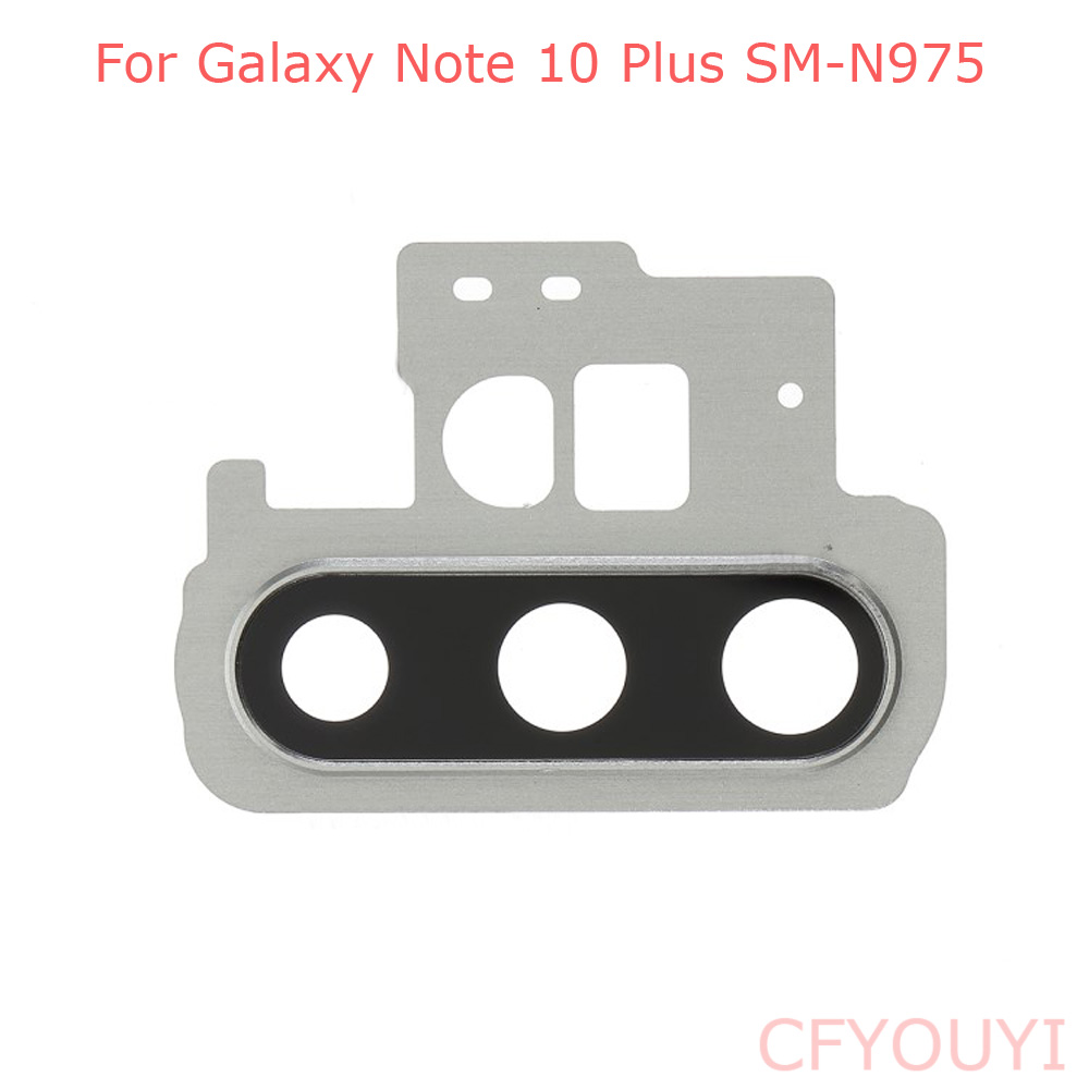 New For Samsung Galaxy Note 10 Plus N975 Back Rear Camera Lens Ring Cover Replacement Part