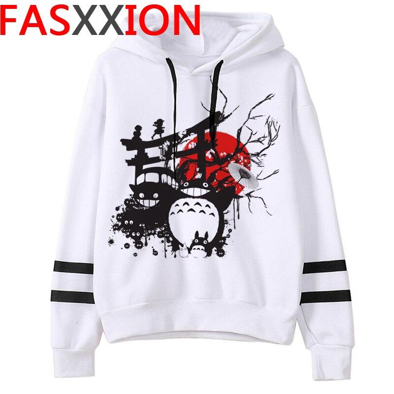 Totoro Studio Ghibli hoodies women streetwear grunge femme hoody sweatshirts hip hop streetwear 8
