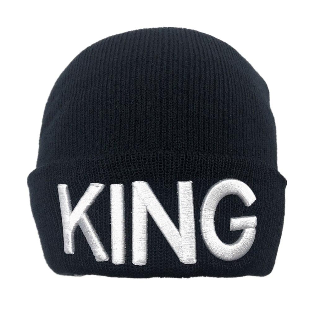 1 adet kral kraliçe işlemeli Snapback kapaklar Lover erkekler kadınlar beyzbol şapkası siyah hip hop şapka Snapback şapka, chapeau kemik masculino