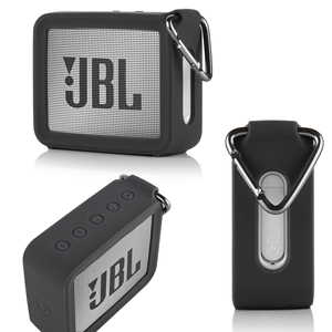New Portable Silicone Case Protective Travel Case Soft Silica Gel Storage Pouch Audio Case for JBL GO 2 GO2 Bluetooth Speakers(China)