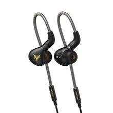 ויזר A15 פרו HIFI אוזניות 1DD היברידי IEM טכנולוגיה ב אוזן סוגים עם MMCX להחלפה כבל עיצוב אלומיניום סגסוגת פגז