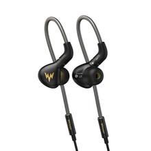 Whizzer auriculares HIFI A15 Pro, tecnología híbrida 1DD IEM, tipo intrauditivo con cable reemplazable MMCX, diseño de carcasa de aleación de aluminio