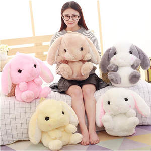 Cute Cartoon Rabbit Shoulder Bag Shoulder Bag Furry Toy Backpack Children's Birthday Gift Christmas Gift