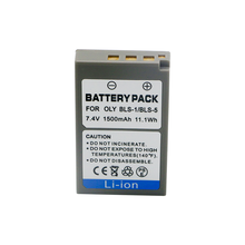 цена на 1pc Digital Camera Battery 1500mAh PS-BLS5 BLS-5 BLS5 BLS-1 BLS1 For Olympus PEN E-PL2 E-PL5 E-PL6 E-PL7 E-PM2 E-M10