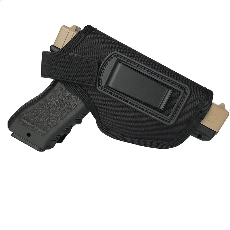 Tactical Gun Holster IWB Concealed Carry Pistol Holster Pouch for Compact Subcompact Handgun