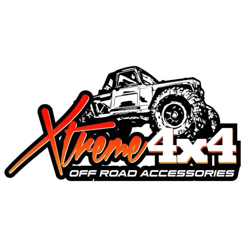 Wodoodporna naklejka na Xtreme naklejka 4x4 Off Road Logo samochód DIY naklejki nadaje się do wszystkich rodzajów pojazdów, 13cm * 6cm|Naklejki samochodowe|   -