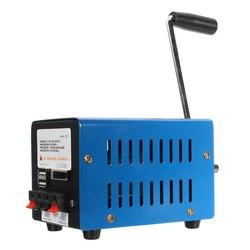 Ładowarka Dynamo o dużej mocy przenośna awaryjna siła ręczna korba ręczna USB ładowanie awaryjne przetrwanie korba ręczna Generator