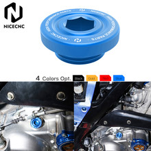 NICECNC – bouchon de vidange d'huile moteur en aluminium, avec joint torique, pour Yamaha Raptor 700 2013 – 2020 Raptor 700R 2012-2020