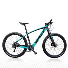 Najtańsza cena węgla kompletny rower 29er MTB wysokiej jakości T700 pełna węgla rama roweru 29er rower górski tanie tanio MIRACLE Mężczyzna Z włókna węglowego Aluminium Mężczyźni 29er carbon MTB Bike To order 10 8kg 115kg 29*2 1