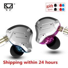 KZ ZS10 PRO 4BA + 1DD hybrydowy metalowy zestaw słuchawkowy HIFI słuchawki douszne sportowe słuchawki z redukcją szumów AS10 AS16 ZST ZSN ES4 T2 ZSX C12
