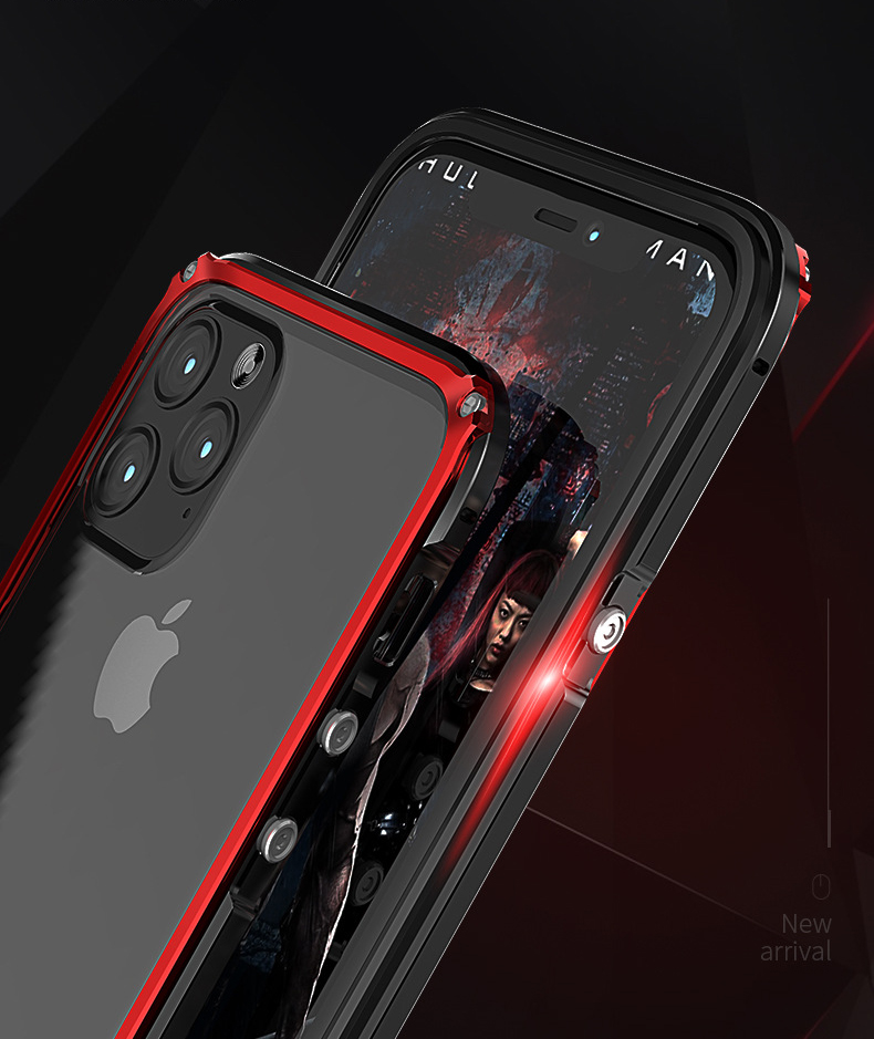 iphone 11 Pro Max アルミバンパー
