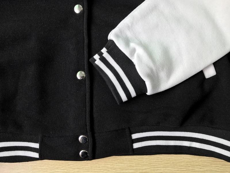Veste Jack Skellington - Veste Baseball Teddy Créer Son T Shirt