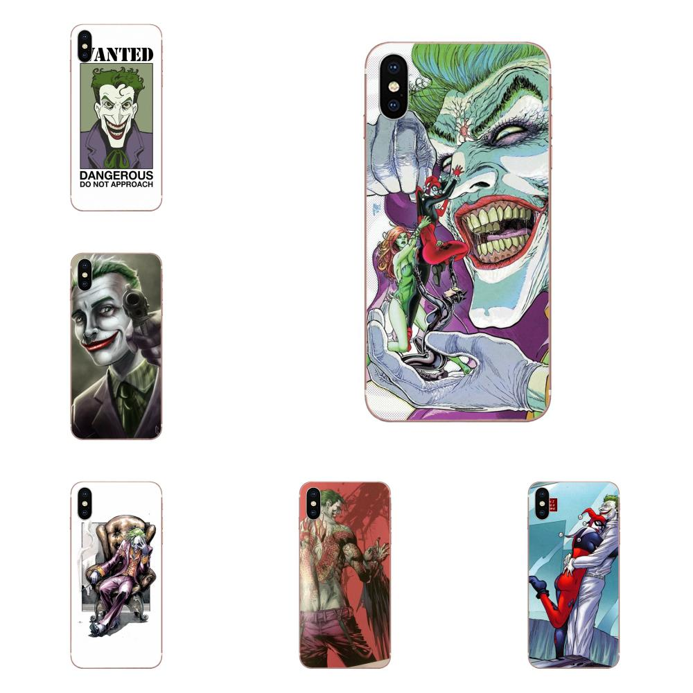 Soft Fashion Phone Case For Xiaomi Redmi Note 2 3 3S 4 4A 4X 5 5A <font><b>6</b></font> 6A Pro Plus Wizyakuza Joker <font><b>Knife</b></font> image