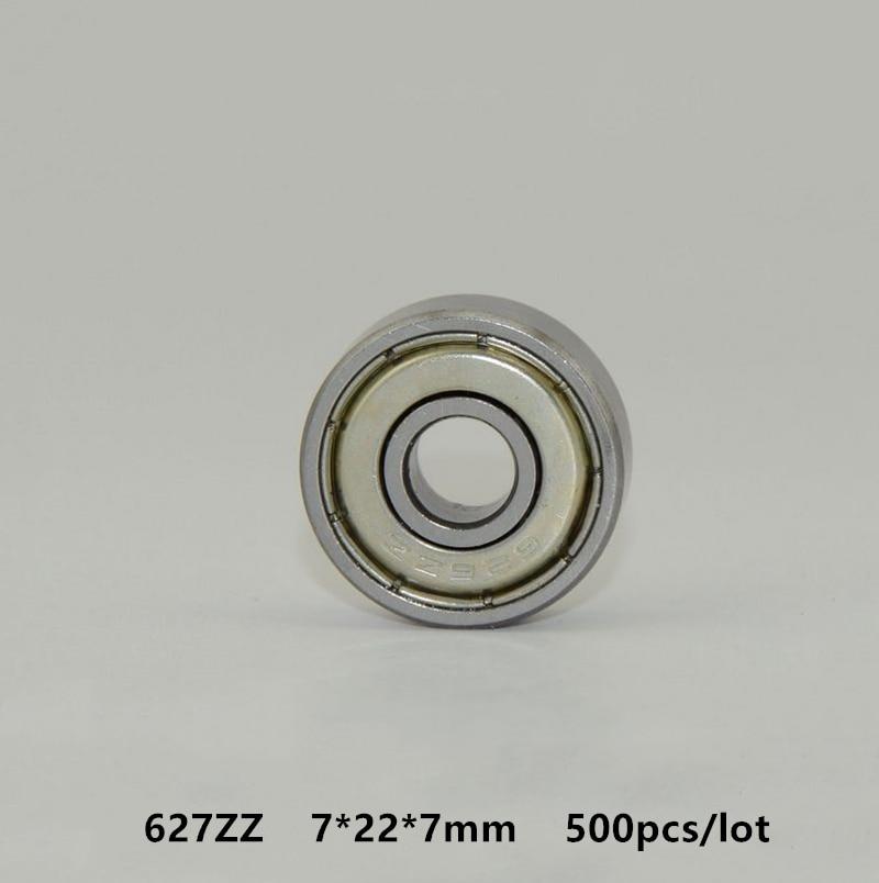 20pcs 627ZZ 627Z 627 2Z 7x22x7mm Deep Groove Ball Bearing Mini Bearing 7*22*7