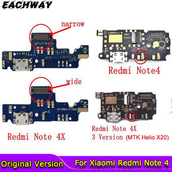 for Redmi Note 4 USB Port Charger Dock Plug Connector Flex Cable Note4 For 5.5 Xiaomi Redmi Note 4 Charging Port Board Replace jintai micro usb connector charger charging port dock flex cable for lenovo k5 note