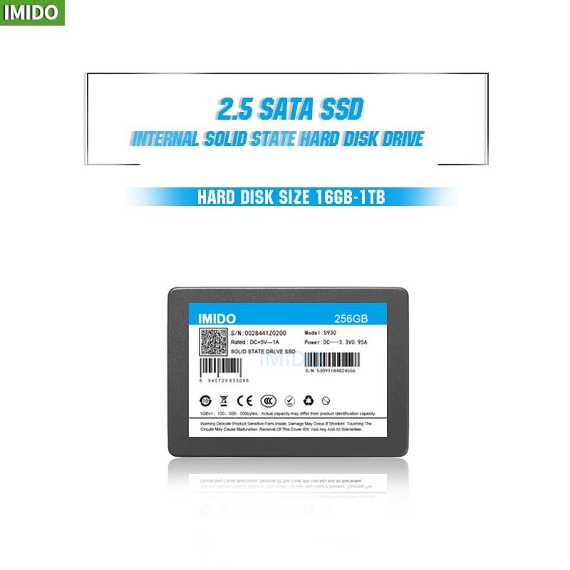 IMIDO SSD 32GB 60GB 240GB 120GB 480GB 960GB 1TB SSD 2.5 Hard Drive Disk Disc Solid State Disks 2.5