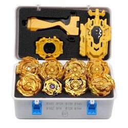 Новый золотой FCL Beyblade Beyblades металлический набор для младенцев взрывной коробки Bey Blade Beyblade детские игрушки