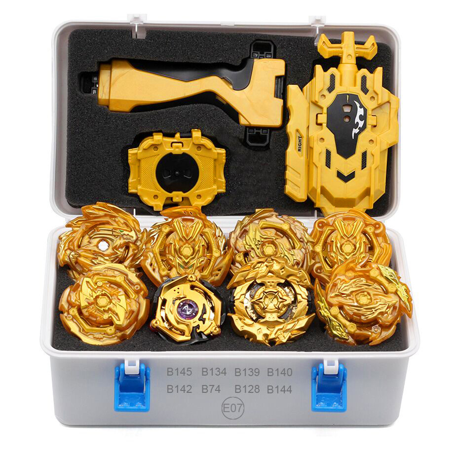 New Gold FCL Beyblade Beyblades Metallic Babies Set Explosion Box Bey Blade Beyblade Children Toys