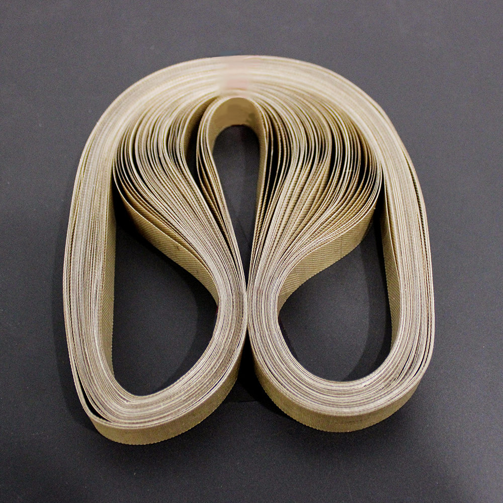 50pcs//lot 750*15*0.2mm teflon belt for FR-900 Continuous Band Sealer or FRD-1000