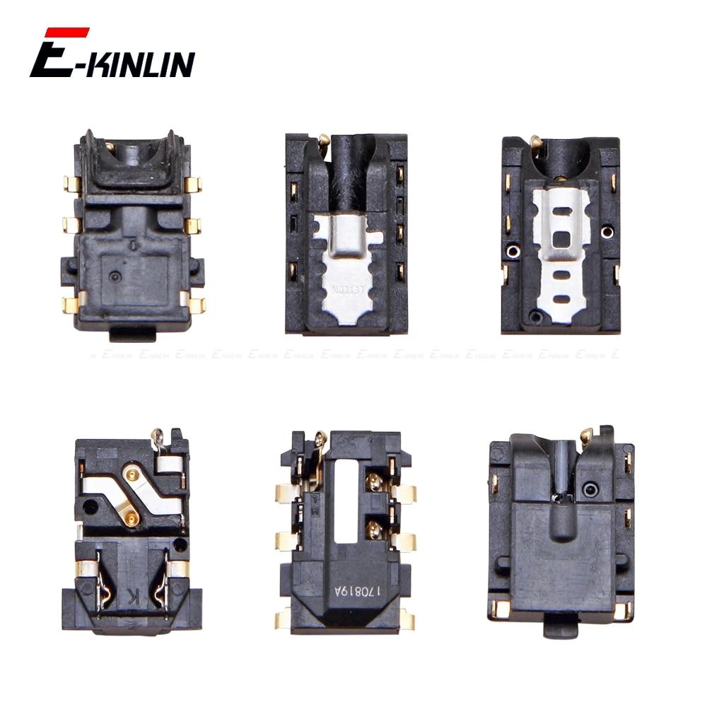 Ear Earphone Headphone Jack Audio Port Connector Flex Repair Parts For HuaWei Honor Play 7C 7A 7X 7S 6C 6A 6X 5C Pro