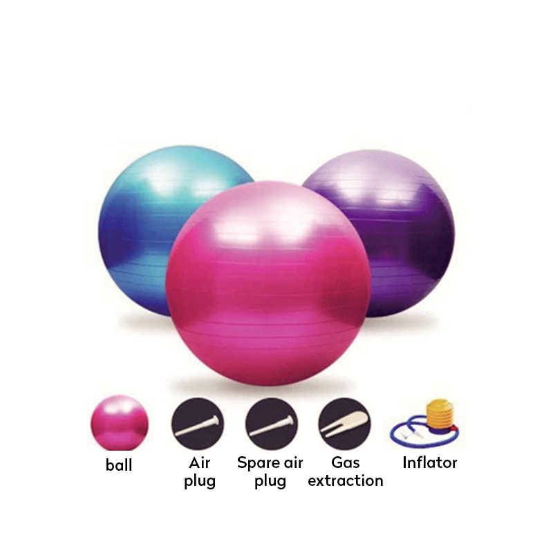 Gymnastikball Fitnessball Sitzball Sportball Pilates Ball Yogaball 55 65 75 85cm