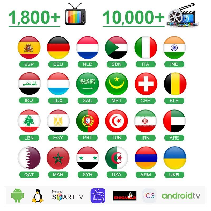 IPTV в Германии Италии Испании умная IPTV в m3u 1год 4К Европа арабский IPTV в Португалии Нидерландов Бельгии, ОАЭ, Марокко IP-телевидение без приложения включают в себя