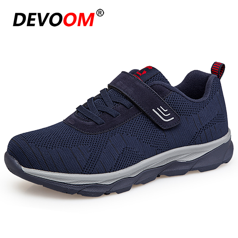 Running Shoes For Men Women Casual Elderly Safety Jogging Walking Shoes LightWeight Strap Sport Shoes Woman Comfort Sneakers Men