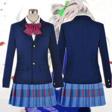 HISTOYE The Comic Love Live School Idol Project Costume Kotori Minami Cosplay Clothing College Style Unifrom for Women Halloween