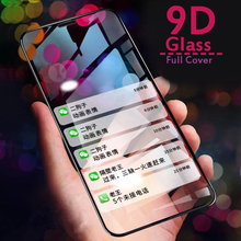 Gusima For iPhone 7 Glass On 6 8 8plus X 10 XS Max XR 9D Hydrogel Full Screen Protector Protective