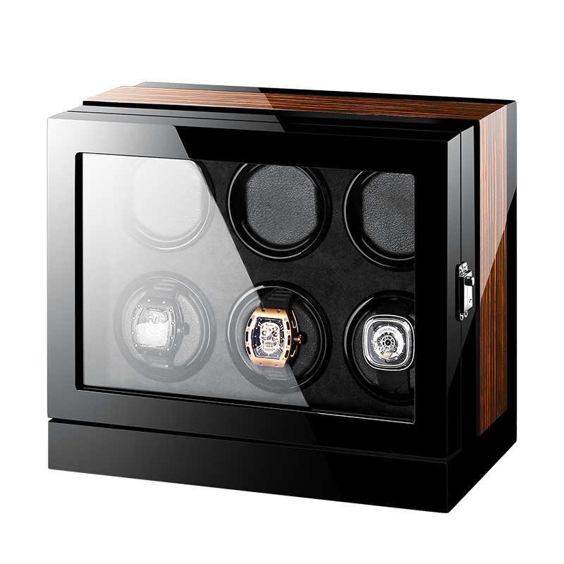 Nieuwe Versie Horloge Winder voor automatische horloges Houten Horloge Accessoires Horloges Opslag