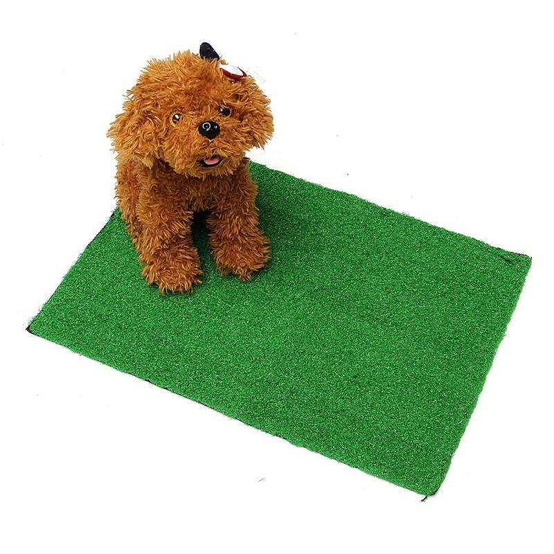 Dog Potty Training Pee Pad for Puppies and Other Small pets in Simulation Lawn Design 3