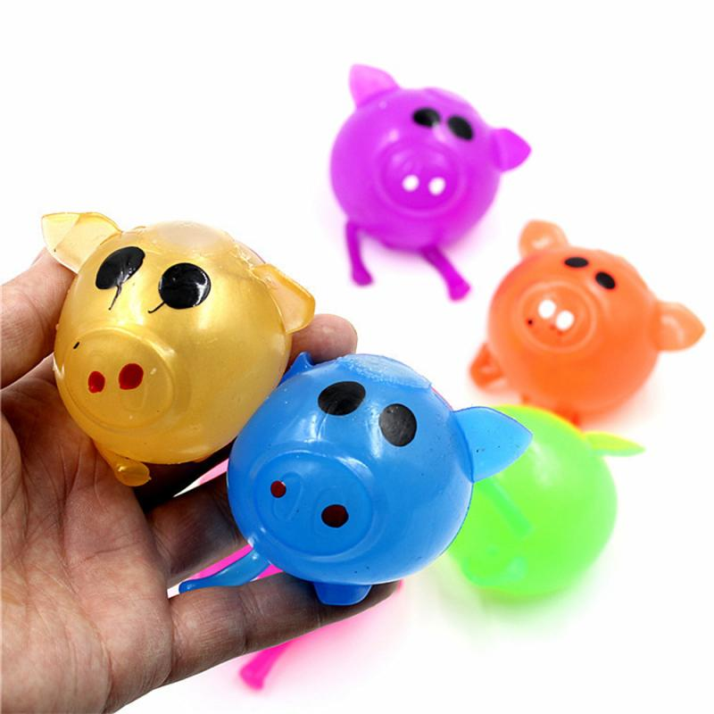 Vent-Toy Sticky-Squeeze-Toy Squishy Relief-Decor Water-Pig-Ball Stress Children Cute img2