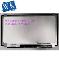15.6 Slim lcd matrix For Lenovo Z50 70 Y50 70 Z510 B50 B50 30 G50 G50 45 G50 70 G50 75 S5 S531 Laptop led screen 30pin 1366*768|Laptop LCD Screen|Computer & Office -
