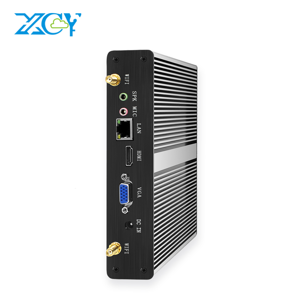 XCY Mini PC Intel I3 7100U DDR3L MiniComputer HTPC Thin Client Support Win 10 7 Linux Minipc Computer Computador Desktop Micro
