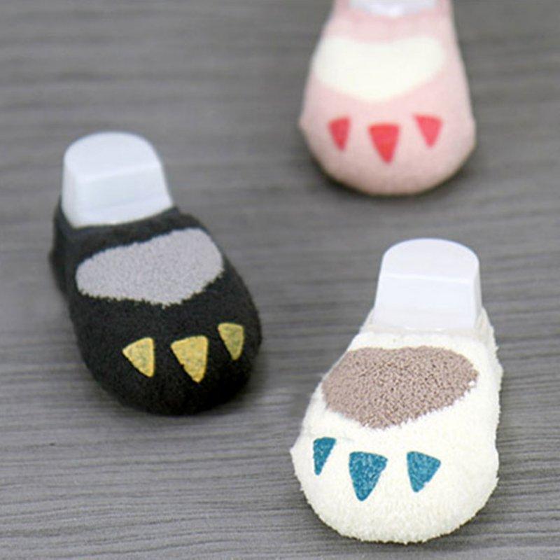 0-4Y Toddler Baby Kids Girls Boys Cute Non-slip Slipper Socks Infant Soft Warm Coral Velvet Warmers Socks Hot