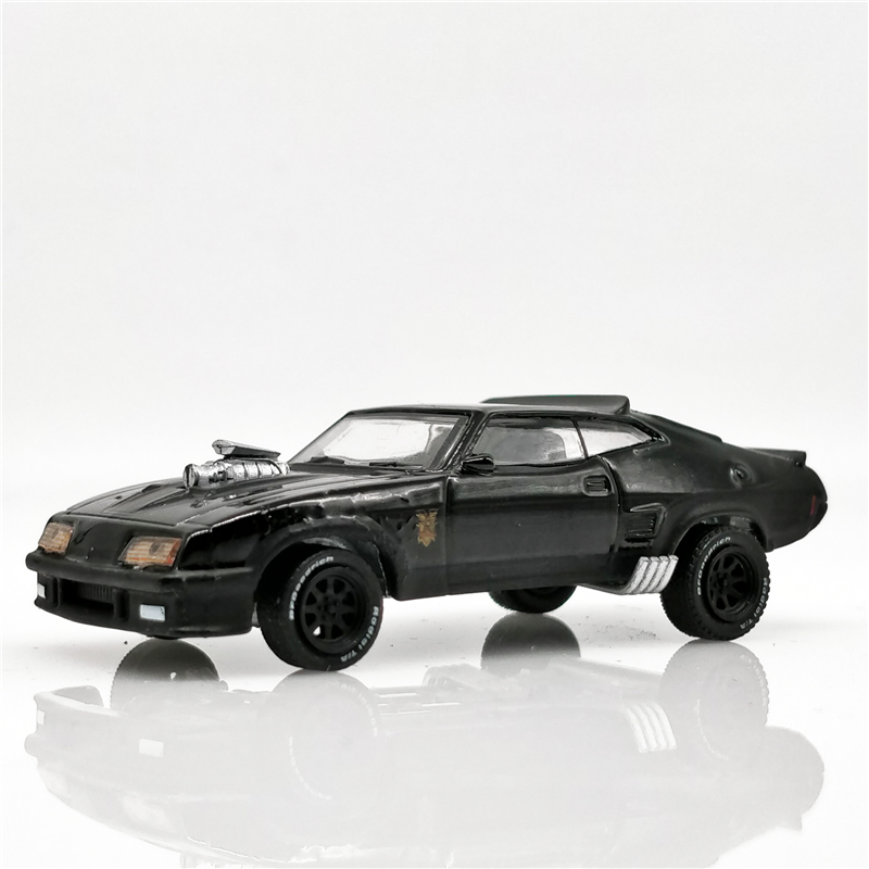 Greenlight 1:64 Last Of The V8 Interceptors 1973 Ford Falcon XB Black Diecast Model Car Loose