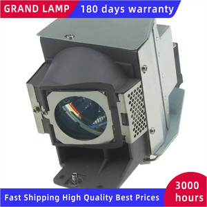 Image 3 - מנורת מקרן עם דיור RLC 070 עבור Viewsonic PJD5126/PJD5126 1W/PJD6213/PJD6223//PJD6223 1W/PJD6353/VS14295 גרנד LMAP