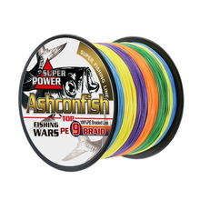 Best 9x braided fishing line 15LB-310LB super pe line for sea fishing 1000M longline round fishing cords multifilament wires