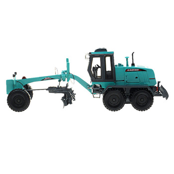 1:35 Alloy Engineering Vehicle Model Simulation Truck Grader Toy - Green