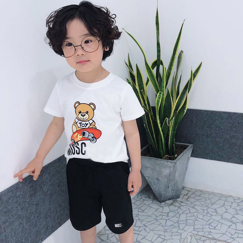 Toddler Girls and Boys Casual Clothes Sets Short Sleeve T shirt+ Skorts  2pcs Clothing Set Summer Kid Boys Outfit Tracksuit|Clothing Sets| -  AliExpress