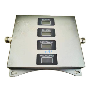 Image 2 - Vier Band Signaal Booster Mobiele 2G 3G 4G Lte Repeater 900180021002600Mhz Celluar Versterker Met Omin antenne