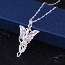 """Ожерелье """"Властелин Рин gs"""", подвеска в виде Вечерней звезды, ожерелье с кулоном в виде кристаллов Сумеречной звезды, женское ювелирное изделие"""