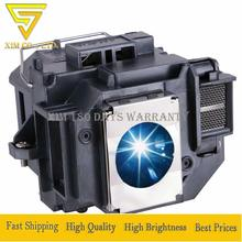 ELPLP56/V13H010L56 Projector Replacement Lamp with Housing for Epson EH-DM3 MovieMate 60 MovieMate 62 V11H319220 V11H411020 osram lamp housing for epson moviemate 72 projector dlp lcd bulb