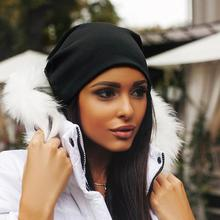 2019 Casual Fashionable Winter Autumn Warm Comfortable Hip Hop Kitting Cap Men W