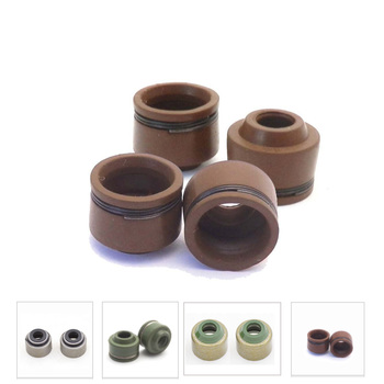 4pcs Motorcycle VALVE STEM OIL SEALS For Honda CG125 CG150 Yamaha YP250 GS 150cc 125cc CG CB JH70 GY6 50 125 ZY125 SCOOTER MOPED image