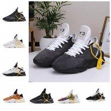 Mode Européenne et Américaine décontracté chaussures pour hommes Y3 FODSW chaussures en cuir VÉRITABLE KGDB Y3 CHAUSSURES amateurs de Sport chaussures de course