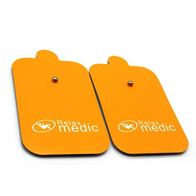 10 stücke Puls Physikalische Therapie Elektrode Pads für Tens Akupunktur Digitale Körper Massager Maschine Massage Therapie Muscle Stimulator