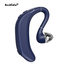 kebidu Wireless Single Bluetooth 5.0 Earphone Waterproof Earpiece V5.1 Headset with Noise Cancelling Mic Long Standby Time