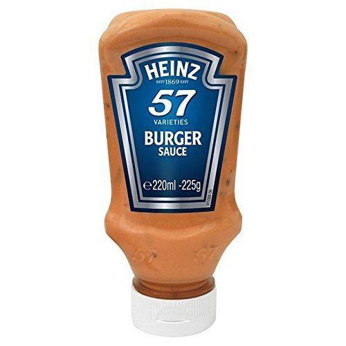 HEINZ Sauce Hamburger 220Ml - Paquet De 2
